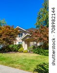 luxury house in vancouver ...   Shutterstock . vector #708982144