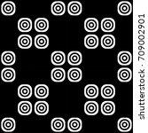 monochrome abstract geometric...   Shutterstock .eps vector #709002901
