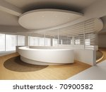 a reception area in an office...   Shutterstock . vector #70900582