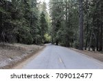 scenic paved road leading to... | Shutterstock . vector #709012477