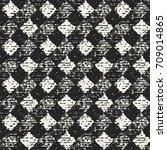 abstract mottled checked... | Shutterstock .eps vector #709014865