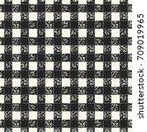 abstract mottled gingham check... | Shutterstock .eps vector #709019965