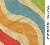 Designed Retro Paper Background