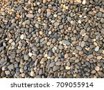 stone in round shape in the... | Shutterstock . vector #709055914
