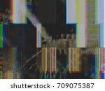 modern background with dead... | Shutterstock . vector #709075387