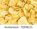 potato chips full frame... | Shutterstock . vector #70908121