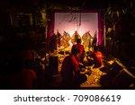 kelantan  malaysia   15th july... | Shutterstock . vector #709086619