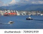 north vancouver   mar. 11  2015 ... | Shutterstock . vector #709091959