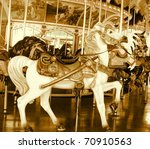 Carousel Horse Ride Done In...