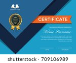 modern premium company... | Shutterstock .eps vector #709106989