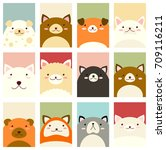 banner  background  flyer ... | Shutterstock .eps vector #709116211