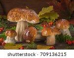 a beautiful still life from...   Shutterstock . vector #709136215