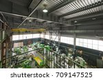 assembly shop  production of... | Shutterstock . vector #709147525