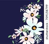 flowers | Shutterstock .eps vector #709158799