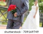 wedding day | Shutterstock . vector #709169749