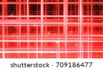 sparkling graphic particles. 3d ...   Shutterstock . vector #709186477