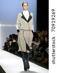 Small photo of NEW YORK - FEBRUARY 10: Juju Ivanyuk walks the runway at the BCBG Max Azria Fall 2011 Collection presentation during Mercedes-Benz Fashion Week on February 10, 2011 in New York.