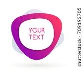 modern banner and sticker... | Shutterstock .eps vector #709192705