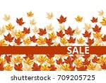 sale board  template of... | Shutterstock .eps vector #709205725