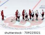podolsk  russia   september 3 ... | Shutterstock . vector #709225021