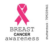 breast cancer awareness symbol... | Shutterstock .eps vector #709235461