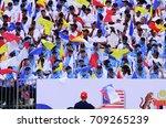 kuala lumpur  malaysia   29... | Shutterstock . vector #709265239