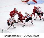 podolsk  russia   september 3 ... | Shutterstock . vector #709284025