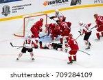 podolsk  russia   september 3 ... | Shutterstock . vector #709284109