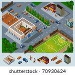 school environment. set of very ...   Shutterstock .eps vector #70930624