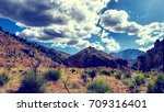 scenic view of mountains... | Shutterstock . vector #709316401