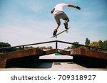 skateboarding | Shutterstock . vector #709318927