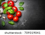 Fresh Tomatoes With Basil...