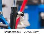 equipment in a professional car ... | Shutterstock . vector #709336894