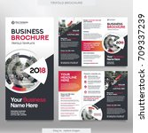 business brochure template in...