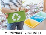 activist taking care of... | Shutterstock . vector #709345111