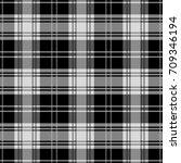 seamless tartan plaid pattern.... | Shutterstock .eps vector #709346194