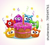 Funny Birthday Illustration...