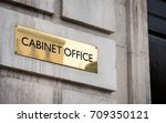 the cabinet office  whitehall ... | Shutterstock . vector #709350121