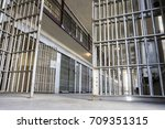 an open prison waiting for a... | Shutterstock . vector #709351315