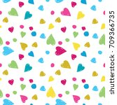 Vector Seamless Pattern Colore...