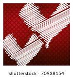 happy valentine's day   Shutterstock . vector #70938154