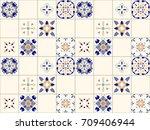 seamless vector texture of... | Shutterstock .eps vector #709406944