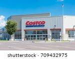 costco wholesale in allentown ...   Shutterstock . vector #709432975
