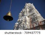 bells in the temple | Shutterstock . vector #709437775