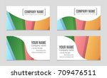 abstract vector layout... | Shutterstock .eps vector #709476511