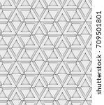 3d box wall 12 | Shutterstock . vector #709501801