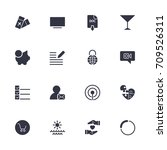 simple different icons set....