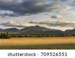 Small photo of Adirondack Mountains at Sunset