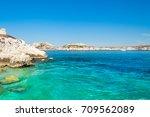 marseille turquoise  blue sea   Shutterstock . vector #709562089