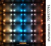 neon abstract background | Shutterstock .eps vector #709577791